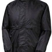 Rainbird Stowaway Waterproof Unisex Jacket - Black
