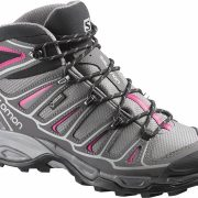 Salomon X Ultra Mid 2 GoreTex Women's Hiking Boots - Detroit/Autobahn/Hot Pink