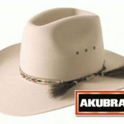 AKUBRA STONY CREEK LIGHT SAND [Hat Size:60cm / 7 1/2'']