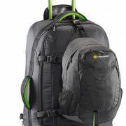 Caribee Fast Track 75L Wheeled Travel Pack & Daypack - BLACK