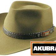AKUBRA SNOWY RIVER HAT SANTONE FAWN [Hat Size:56cm / 7'']