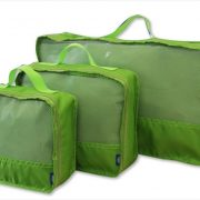 Lonely Planet Travel Packing Cubes (3 Pce Set) Lime