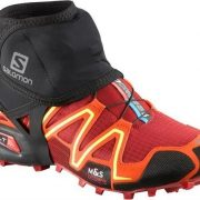 Salomon Trail Gaiters Low - Black [Shoe Size:Large]