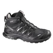 Salomon XA Pro Mid GoreTex Mens Fast Hiking Shoe - Black/ Asphalt [Shoe Size:uk 10.5/us 11/eu 45]
