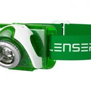 LED Lenser SEO3 GREEN Head Lamp with RED LED - 90 lumens