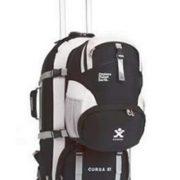 Explore Planet Earth Cursa 65L Wheeled Travel Backpack - black