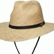 BARMAH FISHERMANS FEDORA RAFFIA [Hat Size:Small]