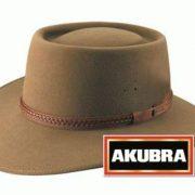 Akubra Plainsman Low Crown Felt Hat - Santone Fawn