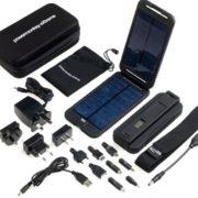 PowerTraveller Powermonkey EXTREME 12V Solar Battery Charger - black