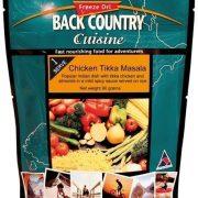 Back Country Cuisine Freeze Dried Food Chicken Tikka Masala 1 Serve