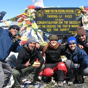 Annapurna Thorong la pass