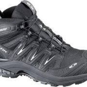 Salomon XA Pro Mid GoreTex Womens Fast Hiking Shoe - Black/ Asphalt [Shoe Size:uk 7.5/us 9/eu 41]