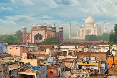 India-landscape-taj-mahal