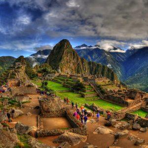 The Machu Picchu in HDR