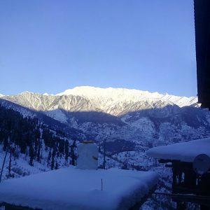 manali winter trek