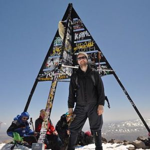 mount toubkal winter climb