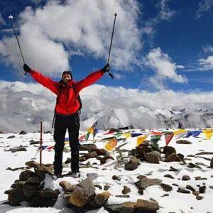 three peaks of ladakh