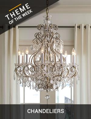 Theme of the week chandeliers treniq
