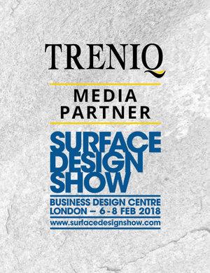 Treniq media partner surface design show treniq