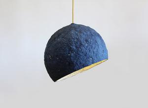 Pluto paper pulp pendant lamp crea re studio 1