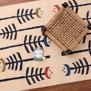 Carpet overseas tribal design ivory black cotton flat weave area rugs carpet overseas treniq 1 1499495535648