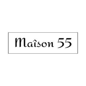 Maison 55 logo black