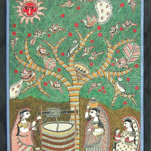 Bibhuti nath jha ink on paper 22 x30 inch 600x600