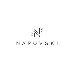 Narovskis logo bez slogan melns