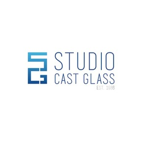Studio cast glass logo treniq