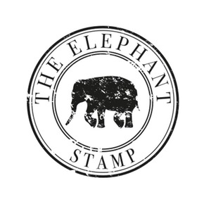 The elephant stamp logo treniq