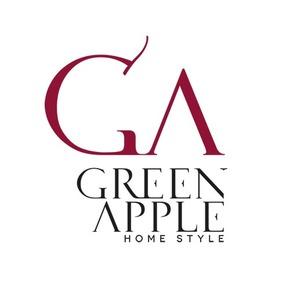 Green apple home style logo treniq