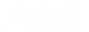 Adell logo beyaz 540x200