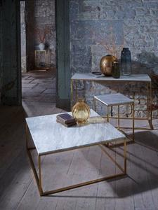 Kensal marble square   rectangle tables brass base gillmorespace