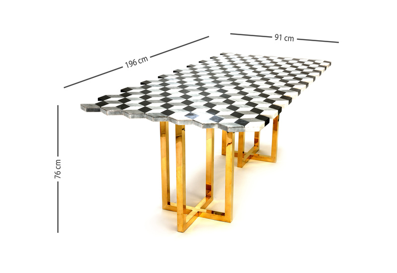 Jagged dining table aurum treniq 7