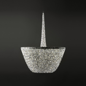 Pure White Chandelier - Cryst - Treniq