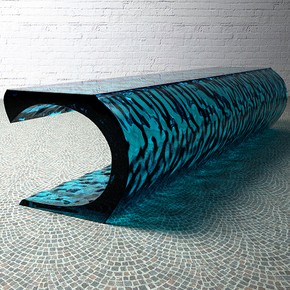 Wave Bar Table - Lee J Rowland - Treniq