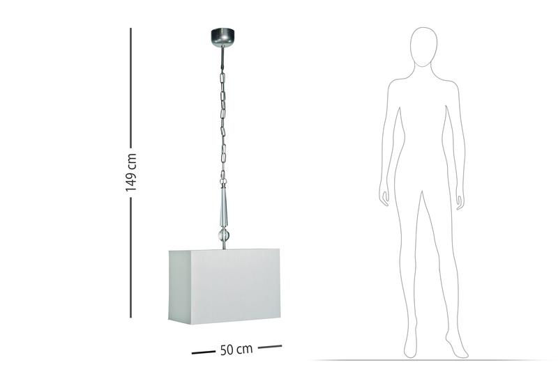 Clock crystal suspension lamp dettagli firenze treniq 7