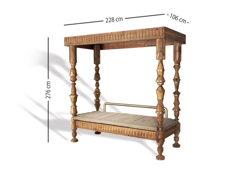 Davenport bed gauri khan designs treniq 5