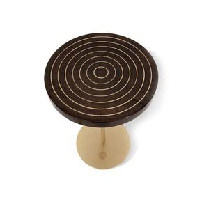 Geometric Lectern  Round Side Table I - Gauri Khan Designs - Treniq
