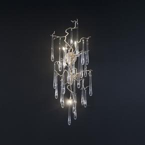 Aqua Wall Lamp Clear Glass - Serip - Treniq