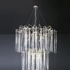 Waterfall suspension lamp clear glass serip treniq 2