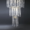 Waterfall suspension lamp clear glass serip treniq 3