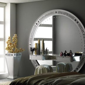Stargate Silver Eyes Mirror - Vismara Design - Treniq