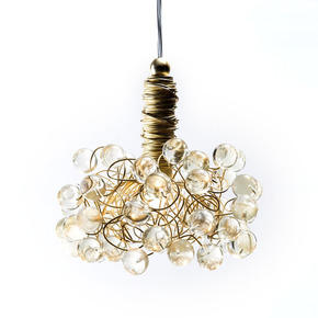 Gold and Bold Pendant Lamp - Aya and John - Treniq