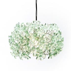 Green and Serene Pendant Lamp - Aya and John - Treniq