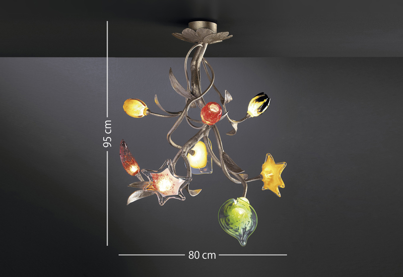 Floret wall lamp serip treniq 4