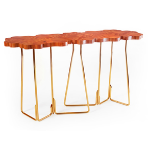 Four For Luck Console Table - Insiderland - Treniq