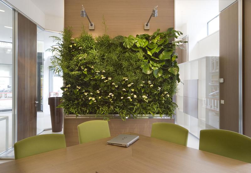 Indoor vertical gardens for offices panel iii sundar italia treniq 1