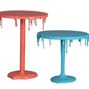 Paint-Drip-Table_Square-Barrel_Treniq