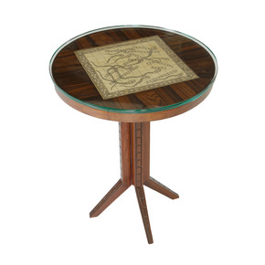 Snakes-and-Ladders Table_Square-Barrel_Treniq